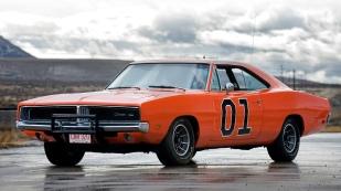 Dans la catégorie des voitures que je rêve d'avoir dans mon garage, voici la Dodge Charger (ici modele General Lee)